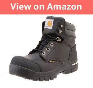 Carhartt Men's CMF6371 Rugged Flex Six Inch Waterproof Work Boot