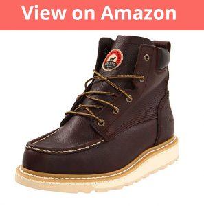 """Irish Setter Men's 83605 6"""" Work Boot"""