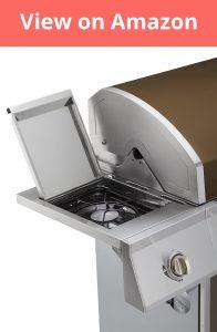 Dyna Glo 5 Burner Gas Grill side burner