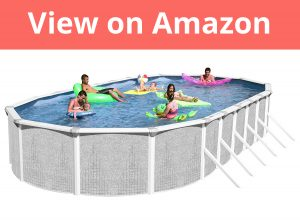 Heritage TA 301552GP-DXP Taos Complete Above Ground Pool